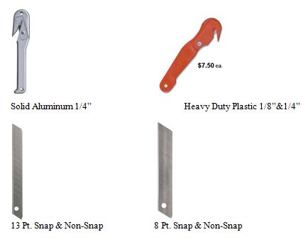 J Type Safety Knives Single Source For Industrial Razor