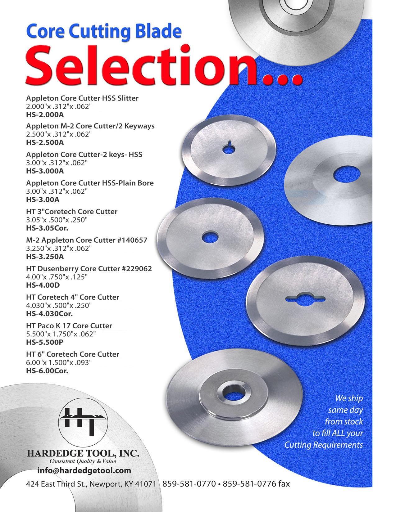 Circular / Shear / Score & Core - Single Source for